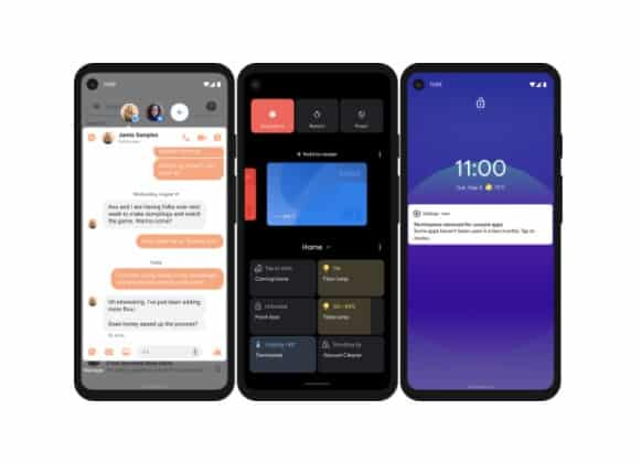 Android 11 screenshots examples